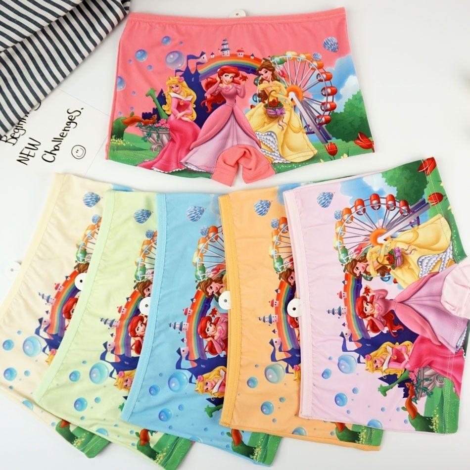 4pcs / Lot Sıcak Satış Çocuk Kız Underwears Külot Yeni Güzel Karikatür Bebek Çocuk İç Giyim Kız Külot Külot Külot Külot