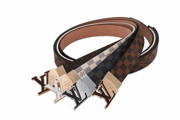 Les concepteurs Hot ceintures de luxe beltsLV pour les hommes boucle de ceinture de chasteté mâle beltsLV top ceinture de cuir des hommes de mode gros BOX12
