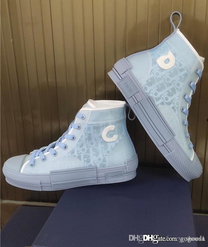 Çiftlerin rahat yüksek top ayakkabı dış taban TPU ile Star Üst düzey versiyonu aynı paragraf yüksek teknoloji ayakkabılar