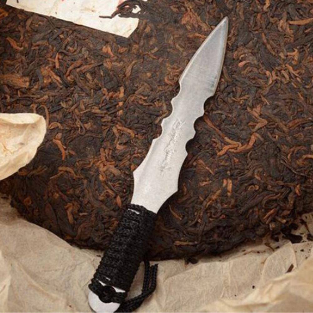 1 ADET Puerh Çay Bıçak İğne Puer Bıçak Koni Paslanmaz Çelik Metal takın Çay Seti Kalınlaştırıcı Puer Bıçak Çay Sıcak satış