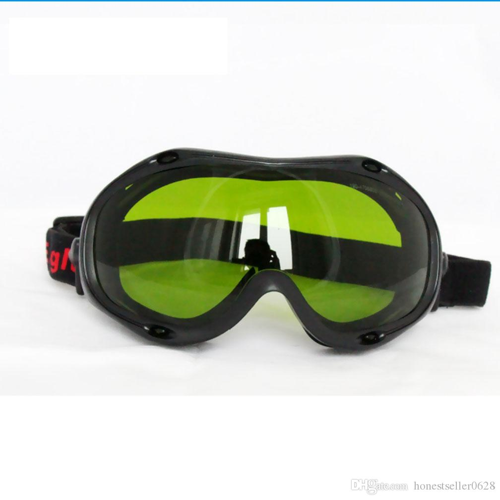 نظارات حماية السلامة ، نظارات واقية من الليزر ، مع مجال رؤية فائق كبير ، 190-470nm800-1700nm OD5 + Wide Spectrum Continuous