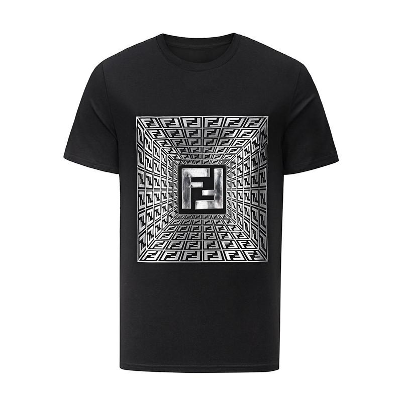 2020 en moda marka yuvarlak boyun tasarımı tişört yaz yeni erkek tişört rahat saf pamuklu 33149