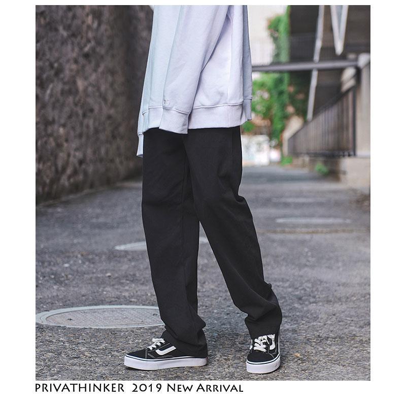 Privathinker Vintage Cargo Pants Overol Hombres 2019 Hombres Streetwear Harem Pantalones Hombre Hip Hop Fashions Diseñador Pantalones rectos SH190902