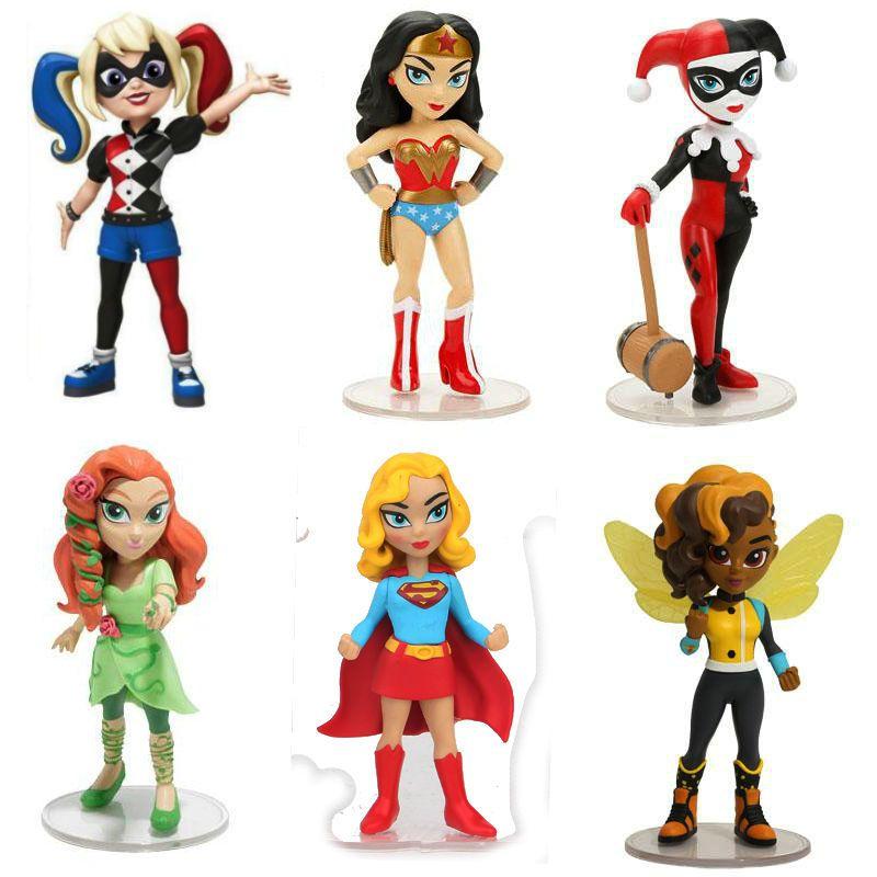Acheter Figurine Harley Quinn Bumble Bee Femme Merveille Poison Ivy De 42 05 Du Toy 888 Dhgate Com