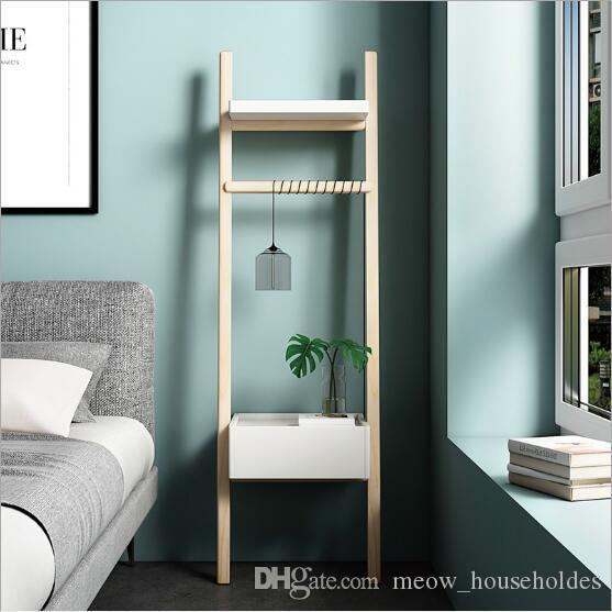 Bedside Storage Cabinet Nordic small household simple ladder corner by the wall side cabinet bedroom furniture living room corner cabinet