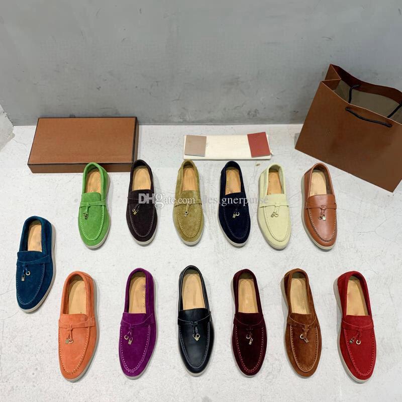 chaussures Designer d'été ouvert à pied casual femmes de créateurs de mode de luxe de chaussures chaussures hommes Suede Muller chaussures Marque marche classique Appartements mocassin