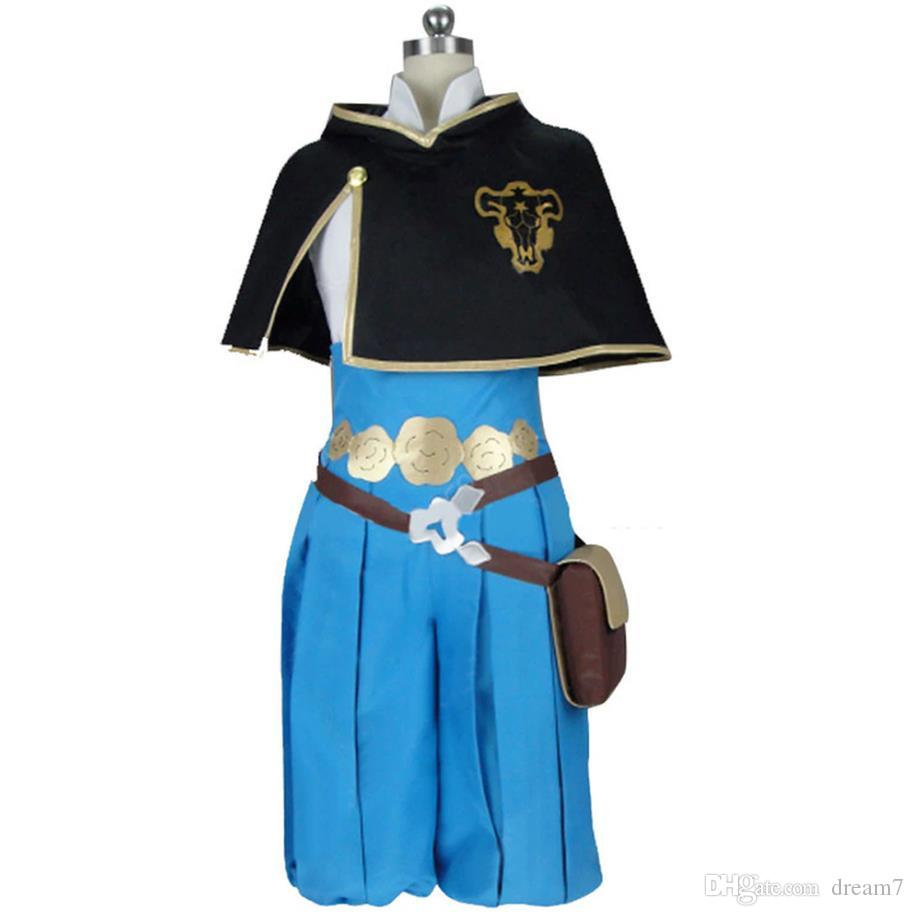 2019 Black Clover Grey Cosplay Carnaval Costume Halloween Christmas Costume