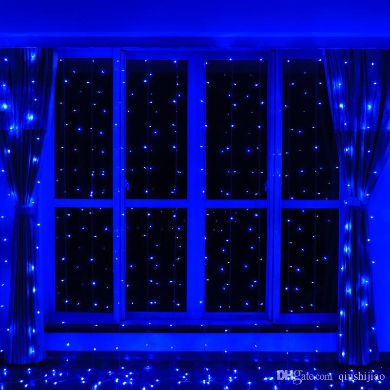 8 Mt * 3 Mt LED Vorhang Eiszapfen String Lichterkette 800 LEDs 8 Modi Vorhang String Licht Hochzeit Weihnachten Urlaub Garten Decor AC110V-220V