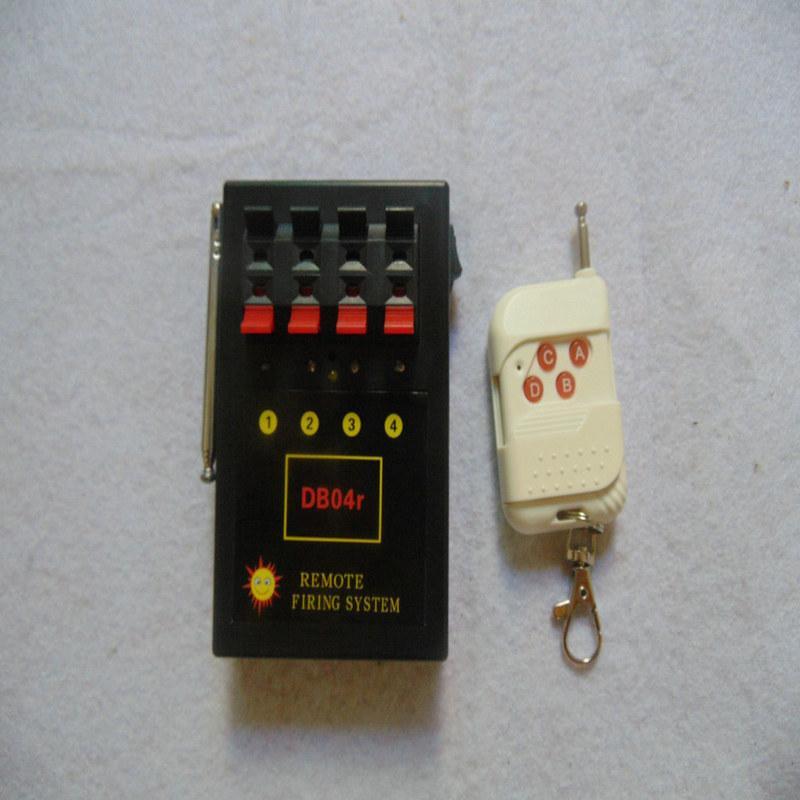 4 Cues Fern 2019 Valentinstag Geschenk Garten Kupferdraht Startseite Feuerwerk Zündung-System AC Fern Festive Party Supplies Wireless Switch