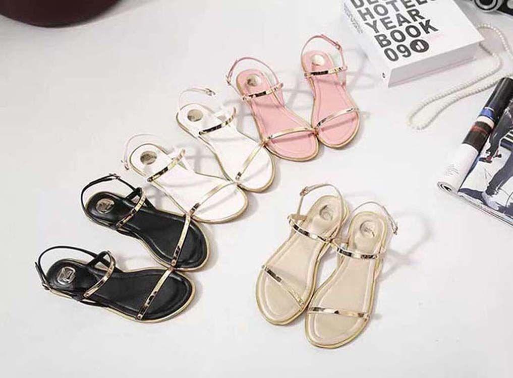 talloni delle donne dei sandali di alta qualità sandali dei pistoni Huaraches Flip-Flops scarpa Mocassini per il pistone bag05 PL803