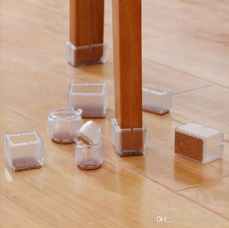2020 Chair Leg Caps Non Slip Pvc Feet Pads Furniture Table Covers