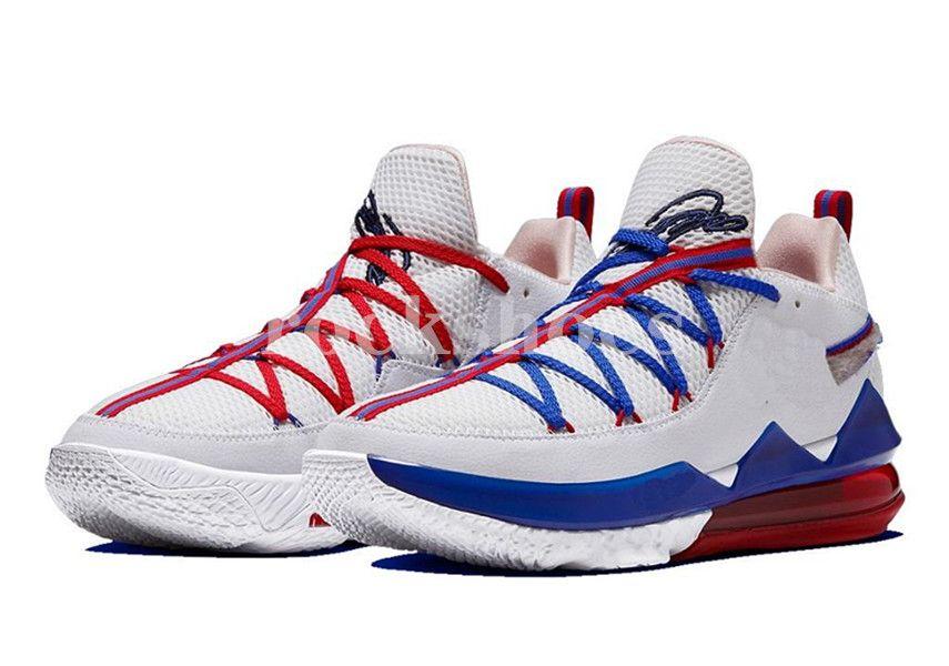 2020 LeBrons 17 Low Tune Pelotão homens venda quente Tênis de basquete de alta qualidade Black easter vermelho mens Shoes instrutor de esportes US7-11