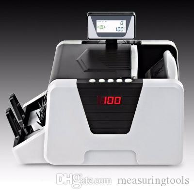 تصميم جديد دوار شاشات الكريستال السائل عرض الأموال uv + mg + mt + ir + dd كشف dms-1180t خاصة لمواجهة فاتورة متعددة العملة