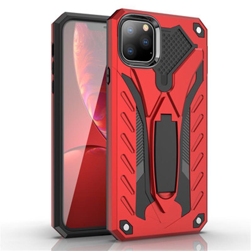 Antiurto casse del telefono del progettista per l'iphone 11 caso 7 8 Inoltre Cavalletto silicone di grado militare per l'iphone x caso max X XS XR Max