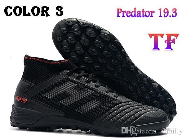 Acquista Scarpe Da Calcio Alte Alla Caviglia Da Uomo Predator Tango 19.3 Scarpe Da Calcio TF TF Predator Originale 19.3 X Pogba Indoor Turf Soccer