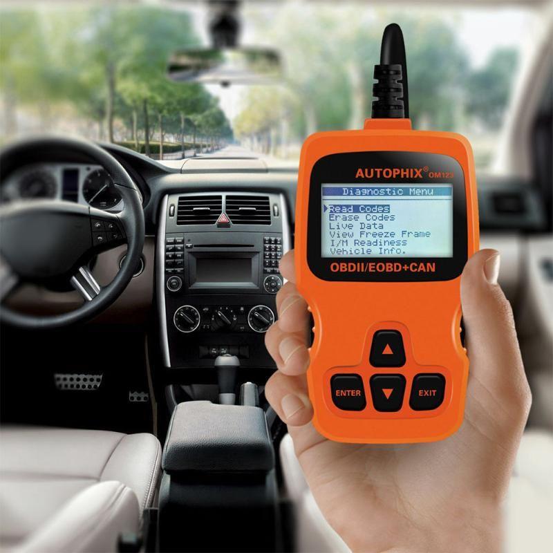 Codeleser überprüfen Scan-Werkzeug Hand Test-Automobilscanner Multi Language Universalstörungs Auto-Motor-Analyzer OBD2 LCD Display