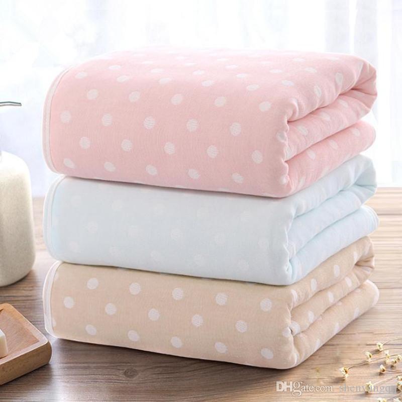 Copertina per bebè cotone neonato coperta 70 * 135 centimetri Swaddle involucro del bambino per ragazze dei neonati