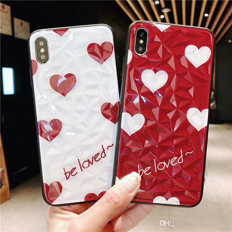 Applicable for iPhone xs max XR X diamond mobile phone case creative for iphone 7/8 protective cover customization free shipping