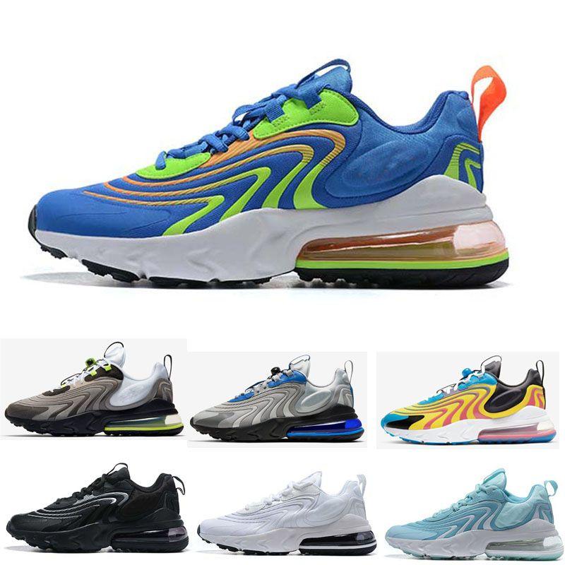 Reagir ENG Homens Mulheres Running Shoes Trilhas da Cactus Bauhaus Triplo Preto Branco Oreo Mens instrutor Esporte tamanho da sapatilha 36-45