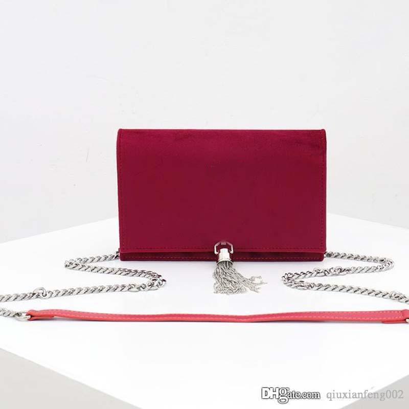 Bolso de calidad superior bolso de la mujer a nivel mundial limitada diseñador de cuero real de lujo solo bolso de hombro de la manera de las mujeres elegantes NB: 1855 Y SIETE