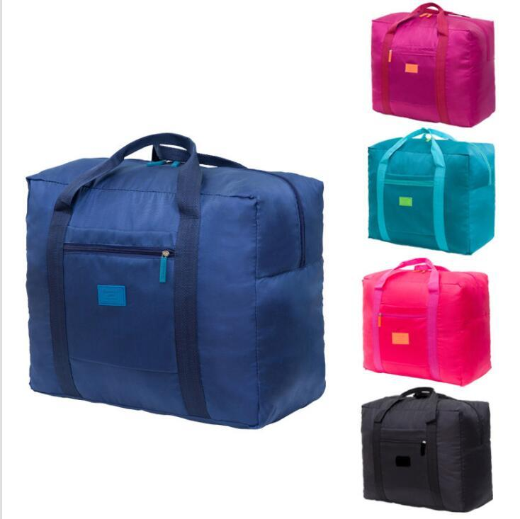 Foldable Travel Bag Handbag Designer High Capacity Waterproof Outdoor Travel Luggage Bags Ployester Home Storage Bag Totes YP203