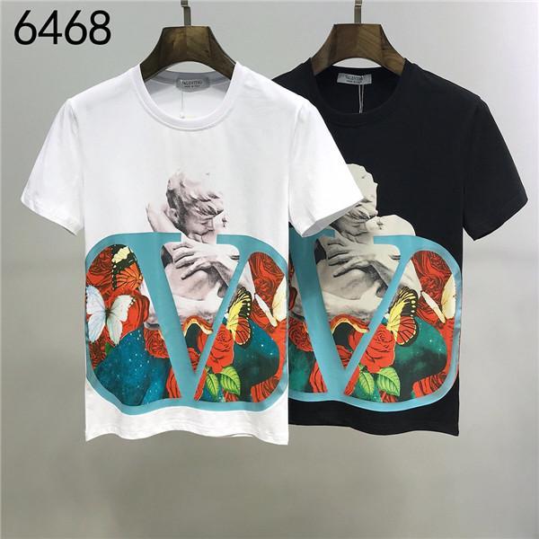 Yepyeni Yaz Erkekler Tasarımcı Tişörtlü Giyim Kısa Kollu T Shirt Roar Orangutan Maymun Çember Yıldız Tişörtlü Unisex Tee Pamuk Tops1