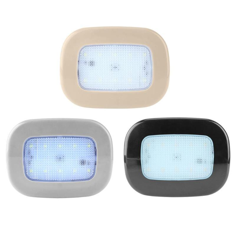 2W 3.7V USB Rechargeable LED Car Trunk Ceiling Reading Light Night Lamp