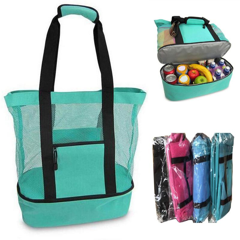 Outdoor Picnic Bag 4 Colors Beach Camping Multi-function Large Capacity Lunch Bags Portable Outdoor Travel Bag