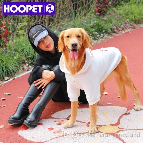 XS-7XL Plus Size Casual Hoodies for Large Dog Fall Winter Pet Dog Clothes Pets Coats Soft Cotton Dog Hoodies Clothing For Puppy Dogs