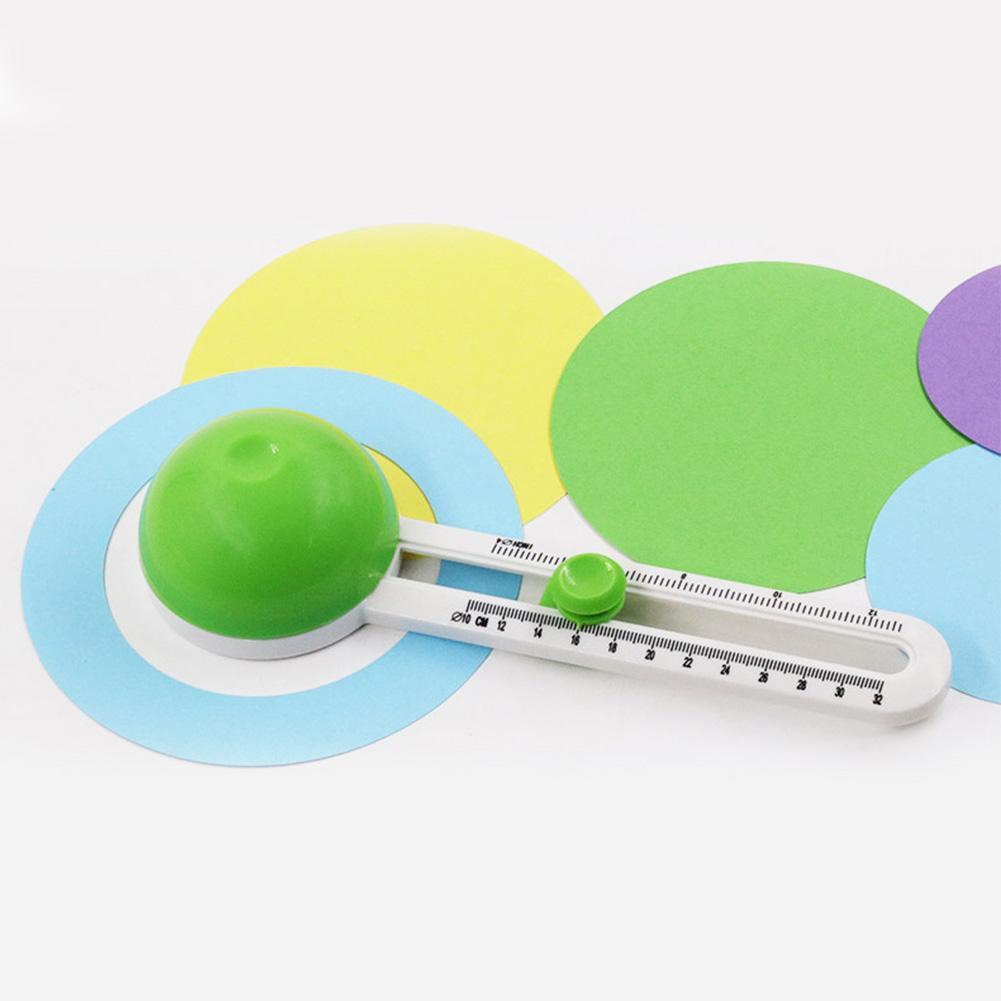 다기능 용지 칼 그림 스크랩북 아트 공예 미니 DIY 만들기 손 도구 로타리 패치 워크 서클 커터 카드