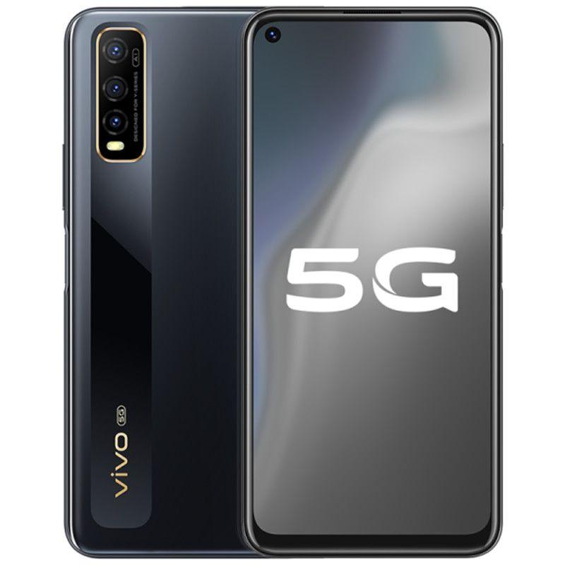 "Orijinal VIVO Y70S 5G LTE Mobil Telefon 6GB RAM 128 GB ROM Exynos 880 Octa Çekirdek 6.53"" Tam Ekran 48.0MP Face ID Parmak İzi Akıllı Cep Telefonu"