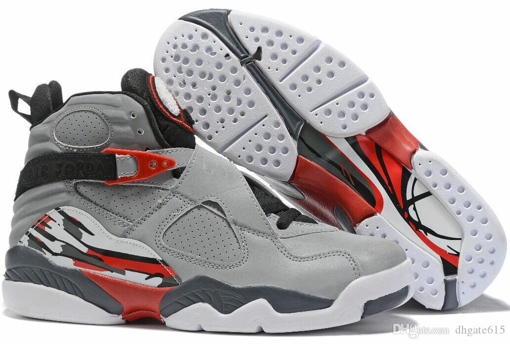 2020 J8 i pattini 8 basket Classics VIII sport della scarpa da tennis di pallacanestro stivali size7-13 07