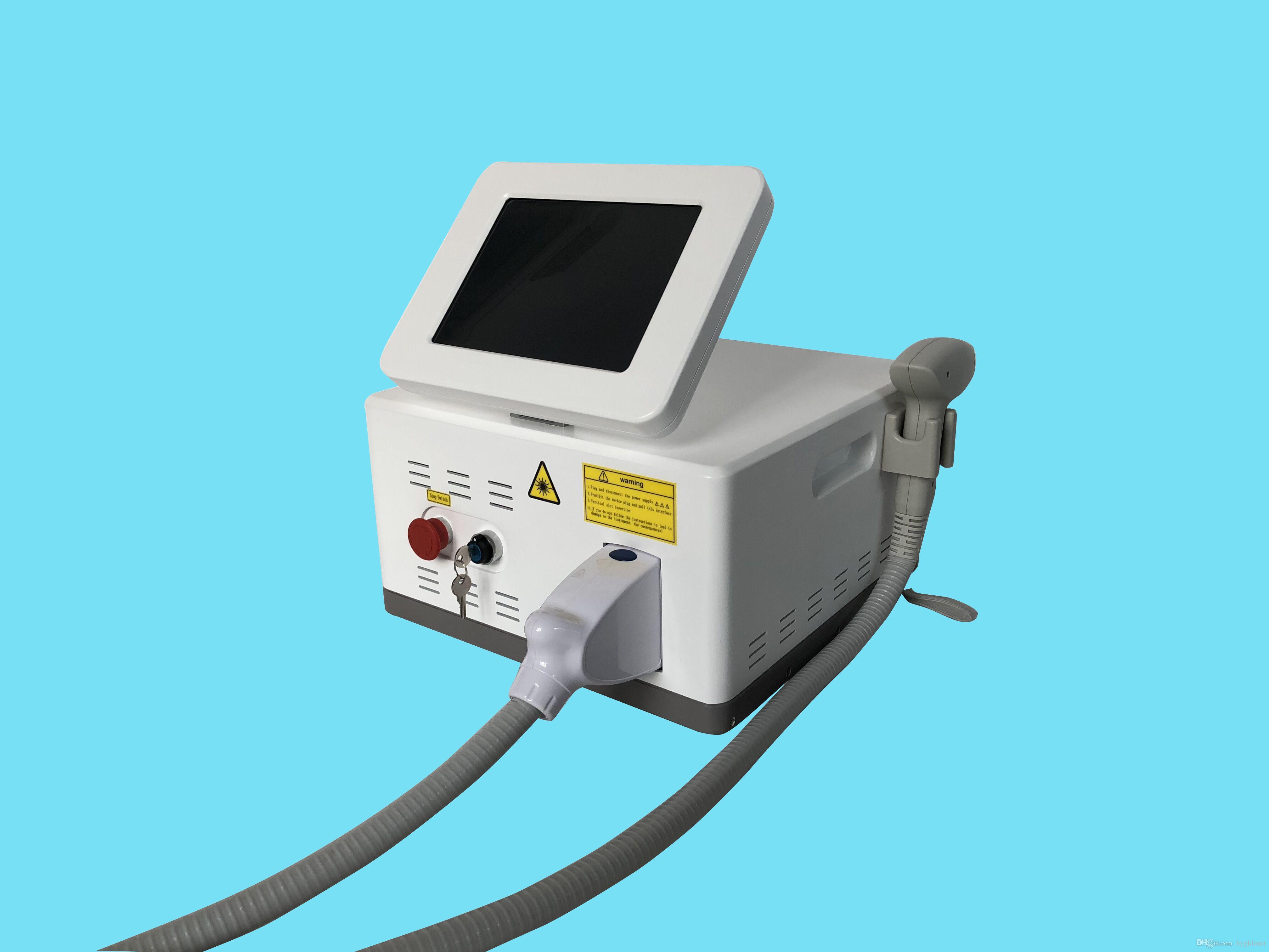 휴대용 808nm / 755nm + 808nm + 1064nm 다이오드 레이저 전문 통증 제모 기계
