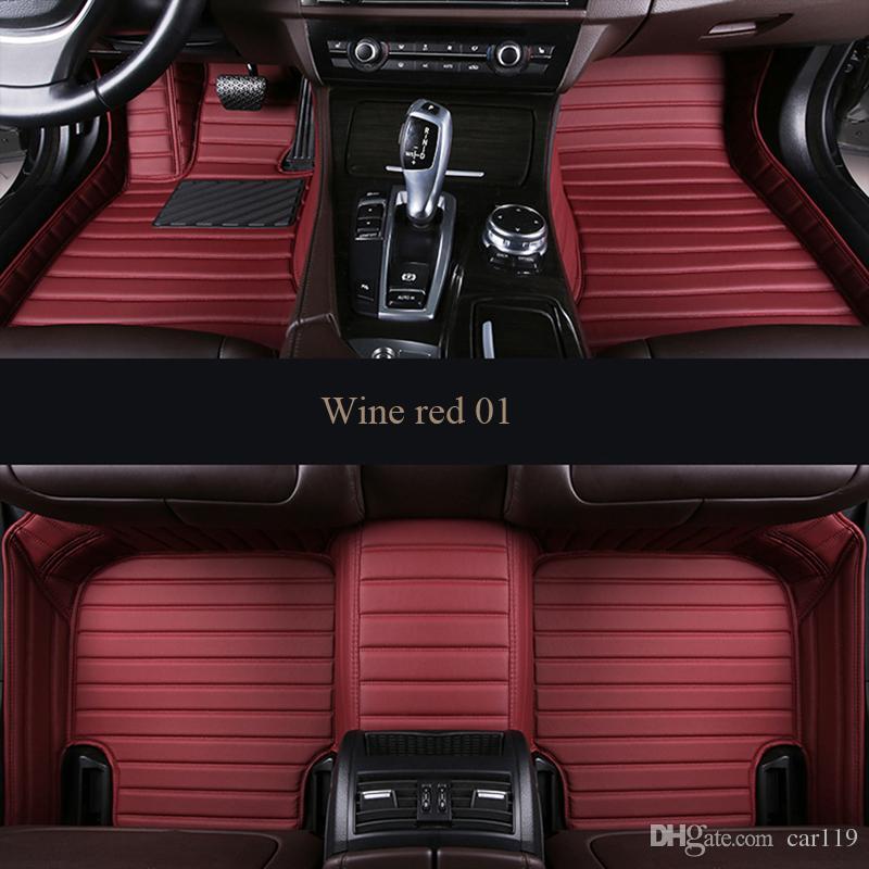 2020 Car Floor Mats Custom For Ford Ranger Explorer 5 2009 Focus 2