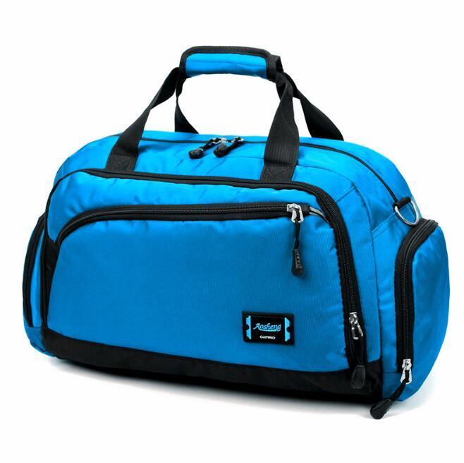 Дизайнер Человек Женщины путешествия сумки Luxury большой емкости вещевой мешок Спорт Открытый пакеты высокого качества Мульти Карманный Дорожные сумки
