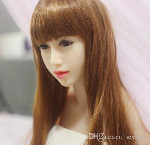 Giapponese bambola reale di amore a grandezza naturale le bambole di sesso maschile del sesso del silicone realistico della vagina realistiche giocattoli gonfiabili del sesso per gli uomini il trasporto libero