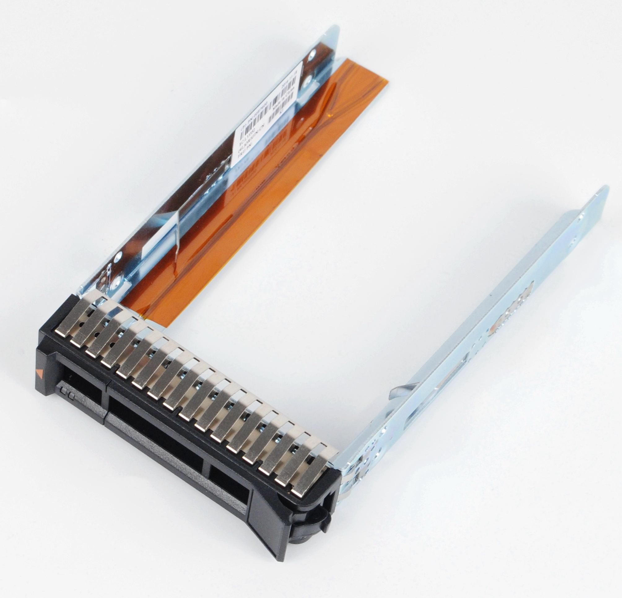 "2.5"" SAS / SATA rígido Caddy Bandeja trenó para IBM X3100 x3250 X3550 X3650 M5 00E7600"