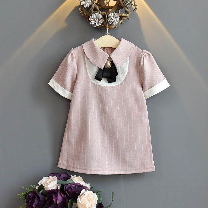 2020 nuevas muchachas de la manera del verano vestidos Boutique princesa vestido niños ropa de diseñador niñas vestido niñas ropa niños ropa al por menor B695