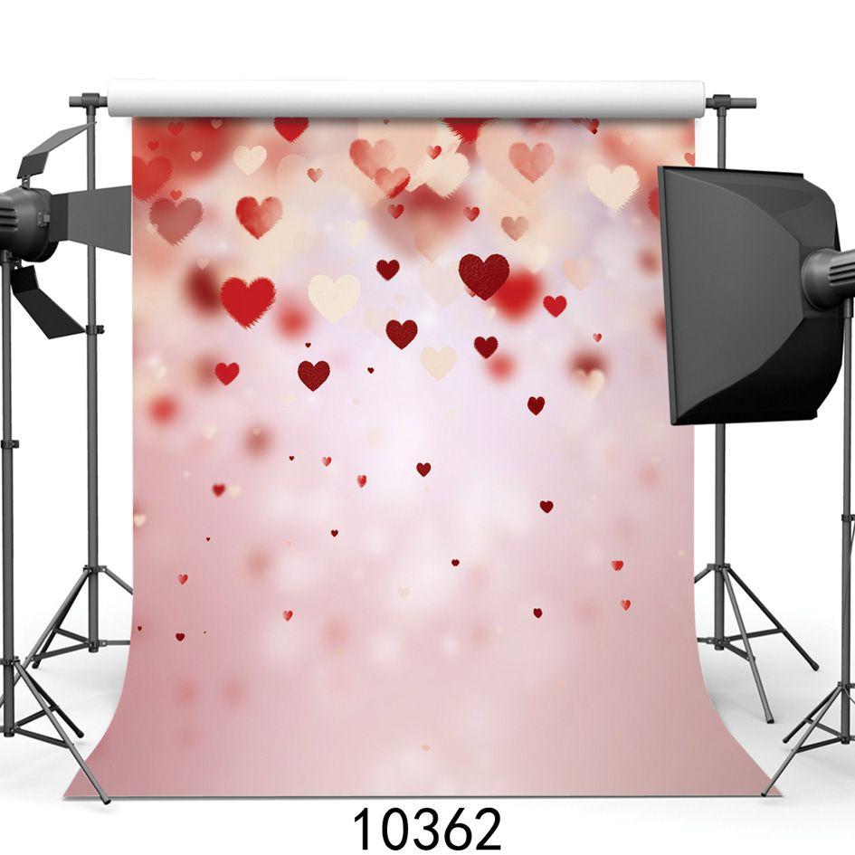 Shengyongbao Vinyl Custom Photography Backdrops Prop digital printed Vertical Valentine day theme Photo Studio Background JLT-10362