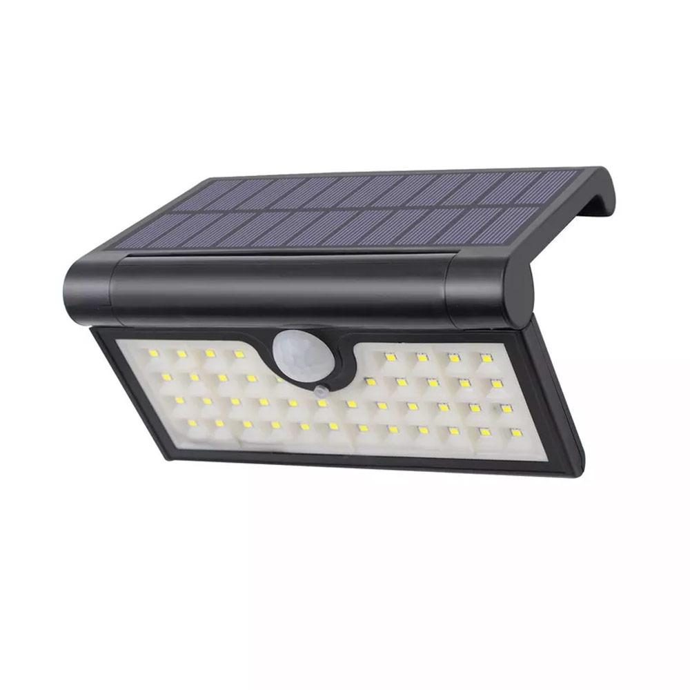 الطاقة الشمسية الخفيفة قابلة للطي 42 LED 2W في الهواء الطلق حديقة الخفيفة IP65 للماء السلامة للكشف عن موبايل الجدار الخفيفة للحديقة