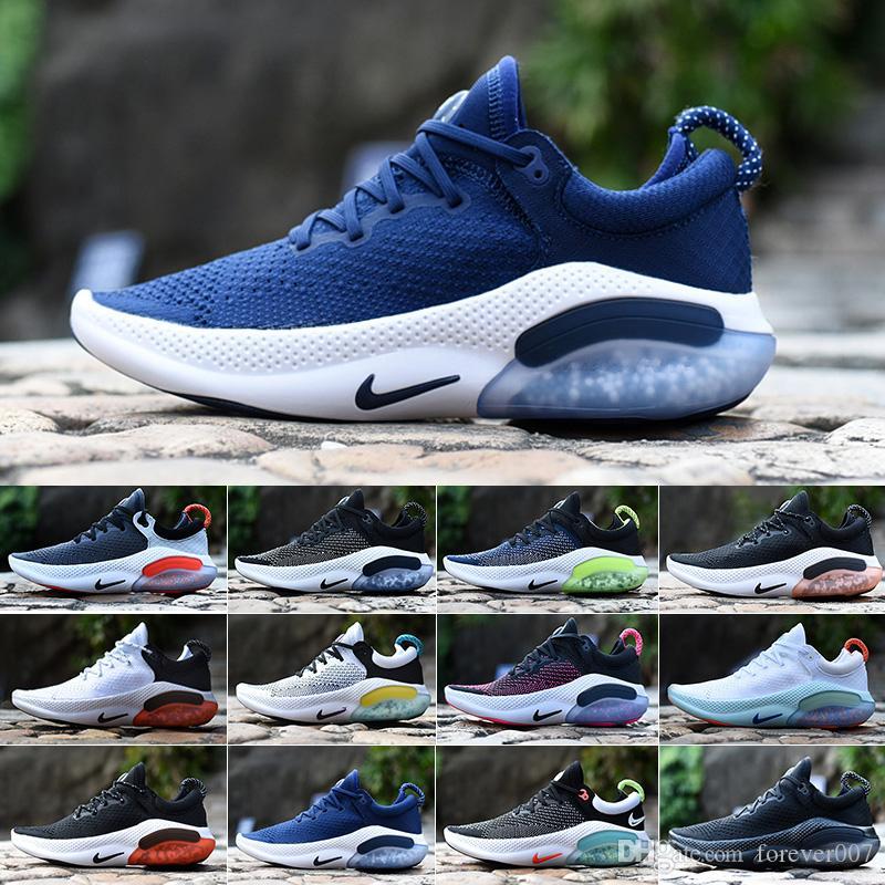 2019 Joyride Run Mens Running Shoes esportes Triplo Black White Platinum Tint Universidade Red Racer azul Mulheres Athletic Shoes SC-5D