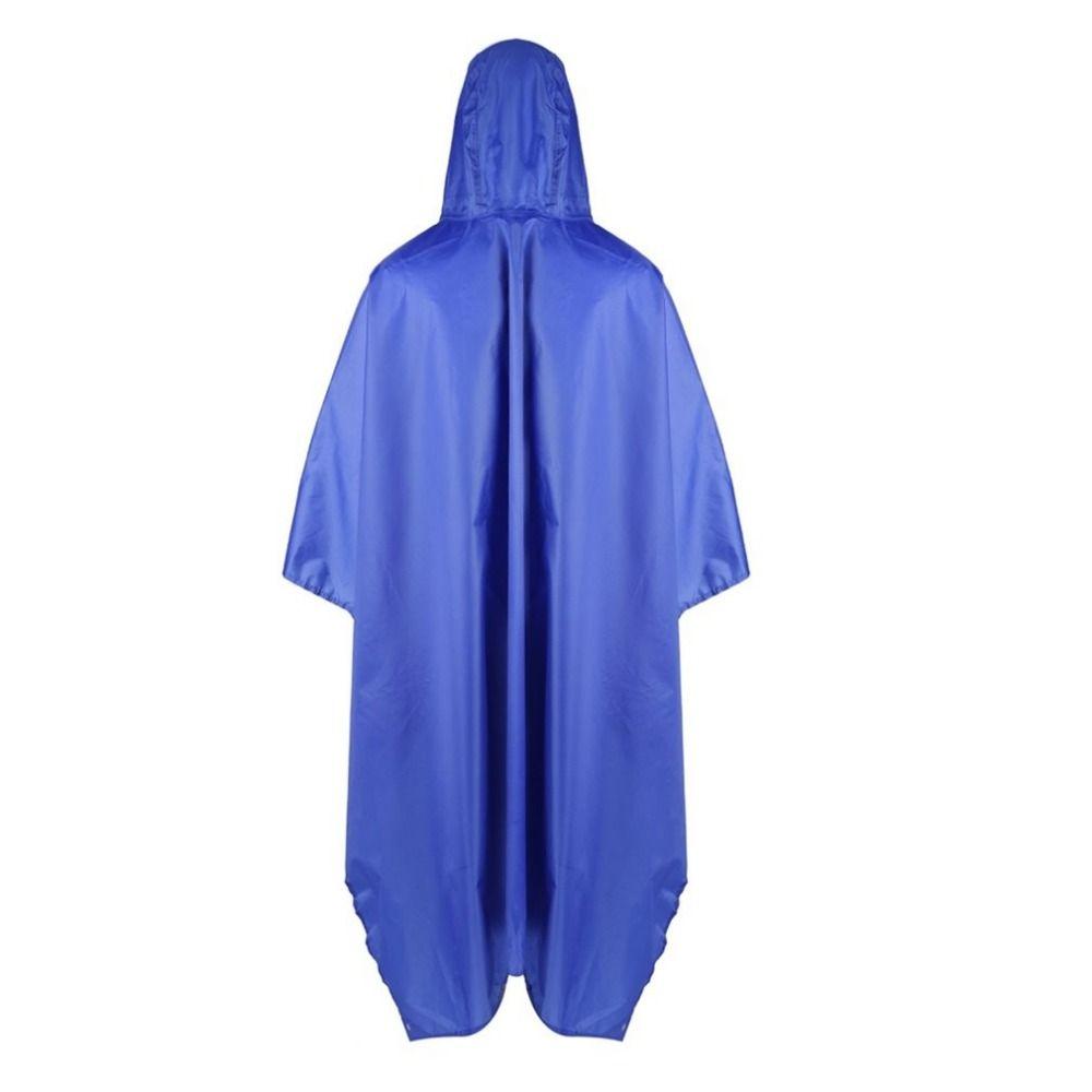 3 Taşıma çantası ile 1 Su geçirmez Yağmurluk Açık Seyahat Yağmur Panço Ceketler Sırt Çantası Yağmur Kapak