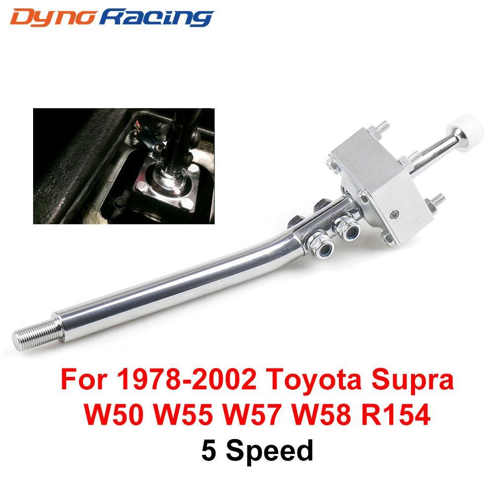 5 engrenagem de aço velocidade curto Shifter Para 1978-2002 Toyota Supra Celica W50 W55 W57 W58 R154 Holden Para Ford para a Mazda