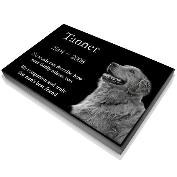 2019 6 Sizes Laser Engraved On The Grave Marker Granite Personalized Pet Headstone Pet Memorials Plaque Headstones Dog Stone From Animastone