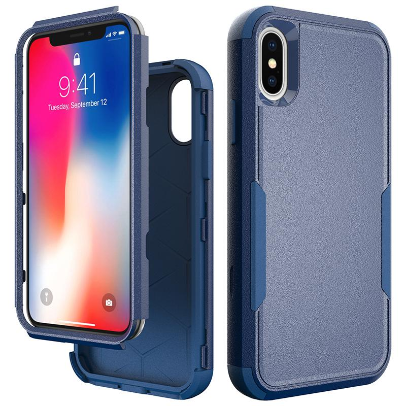 3 IN 1 Cellphone Hybrid Case For iPhone 11 Pro Max Xs Xr 6 7 8 Plus S2 2020 Samsung S20 Series Package