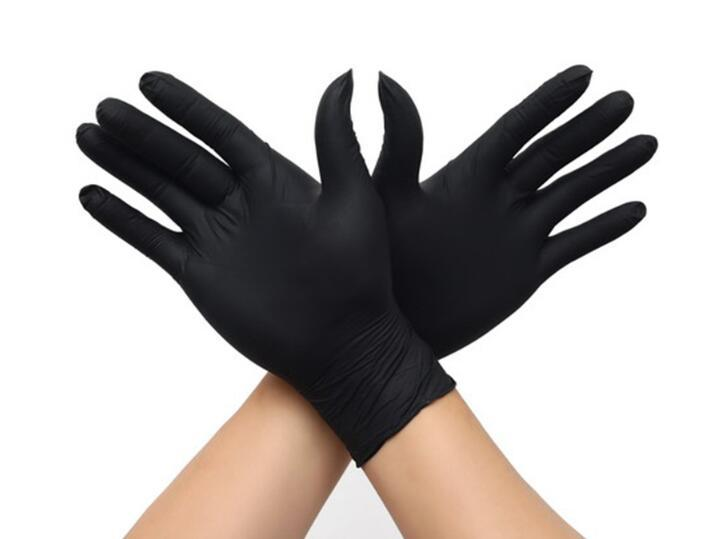 100Pcs Disposable Gloves Latex Universal Kitchen Dish washing Work Rubber Garden Gloves Protective Glove for Home Outdoor ab012