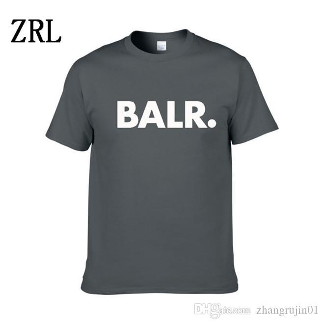 2020 Nova BALR Designer camisetas Hip Hop Mens Designer camisetas marca de moda das mulheres dos homens de manga curta tamanho grande XS-XXL LL-2