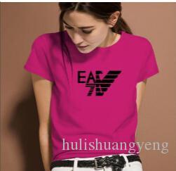 vendita 2020SS donne caldo t-shirt hip hop maniche corte del nuovo wen men comodi e della stampa del fumetto dimensioni T-shirt da donna