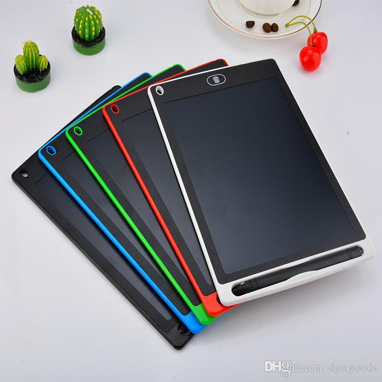 Tablet de escrita LCD inteligente portátil 8.5 / 10/12 / 4.4 polegadas Escritor Digital desenho de caligrafia pads placa eletrônica