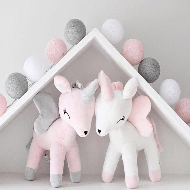 봉제 인형 장난감 아기 귀여운 볼스터 베개 소년 소녀 방 장식 장식품 아이 동물 인형 PP 코튼 부드러운 인기있는 Bowknot EEA389